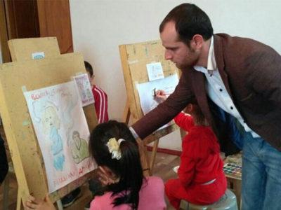 В Детской художественной школе прошел конкурс рисунков