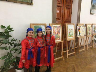 Прошла выставка, приуроченная к Международному женскому дню 8 марта